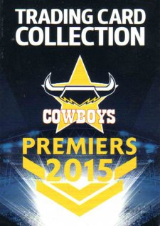 2015 NRL Premiers Cowboys Trading Card Box Set