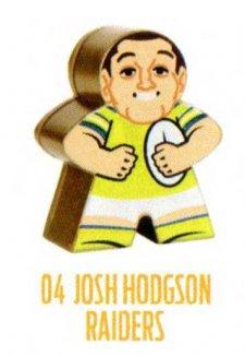 2018 NRL Xtreme Mini Footy Star Gold Figurine 4 Josh Hodgson Raiders