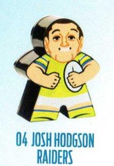 2018 NRL Xtreme Mini Footy Star Base Figurine 4 Josh Hodgson Raiders