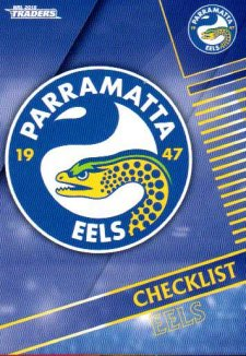 2018 NRL Traders 10-Card Base Team Set Parramatta Eels
