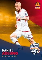 2017/18 Tap N Play FFA Football A-League Soccer Parallel Card 42 Daniel Adlung Adelaide United