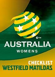 2017/18 Tap N Play FFA Football A-League Soccer Parallel Card 21 Matildas Header Card