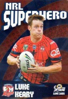 2018 NRL Xtreme Superhero Parallel PSH27 Luke Keary Roosters