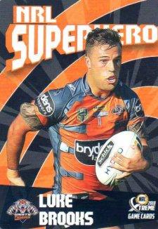 2018 NRL Xtreme Superhero SH31 Luke Brooks Tigers
