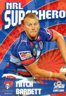 2018 NRL Xtreme Superhero SH16 Mitch Barnett Knights