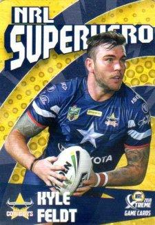 2018 NRL Xtreme Superhero SH17 Kyle Feldt Cowboys