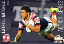 2018 NRL Xtreme Action Series AS14 Latrell Mitchell Roosters