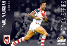 2018 NRL Xtreme Action Series AS13 Paul Vaughan Dragons