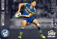 2018 NRL Xtreme Action Series AS10 Mitchell Moses Eels