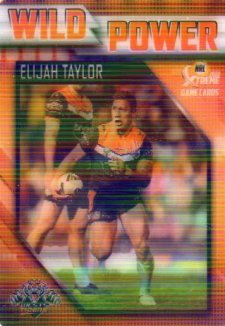 2018 NRL Xtreme Wild Power WP16 Elijah Taylor Tigers
