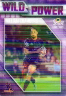 2018 NRL Xtreme Wild Power WP7 William Chambers Storm