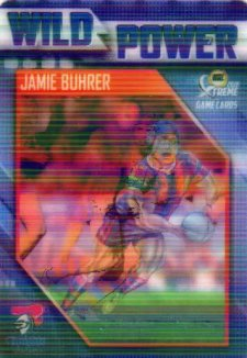 2018 NRL Xtreme Wild Power WP8 Jamie Buhrer Knights