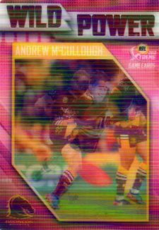 2018 NRL Xtreme Wild Power WP1 Andrew McCullough Broncos