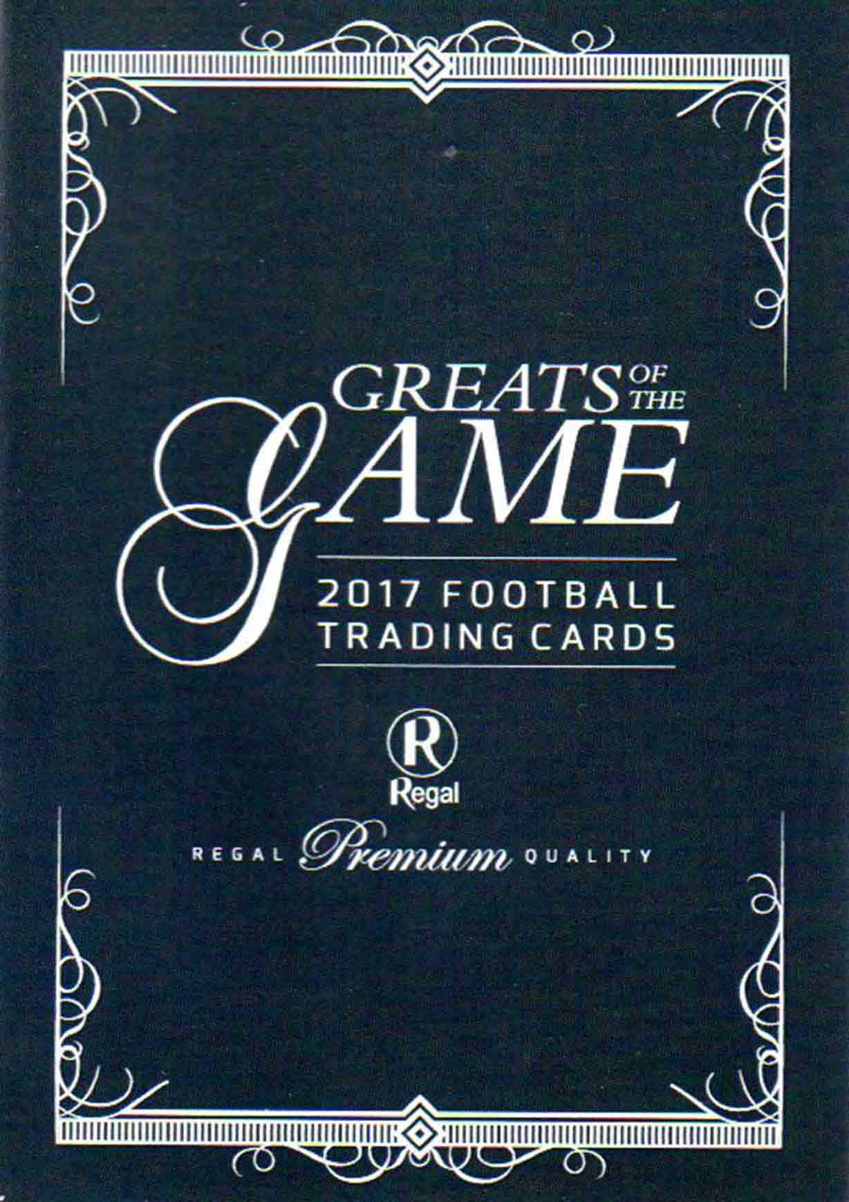 2017 Regal Greats of the Game