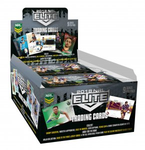 2018 TLA NRL Elite New Sealed Box Trading Cards Box - PRE-SALE