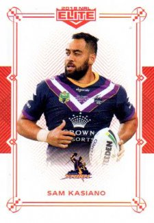 2018 NRL Elite Mojo Ruby MR59 Sam Kasiano Storm