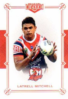 2018 NRL Elite Mojo Ruby MR123 Latrell Mitchell Roosters