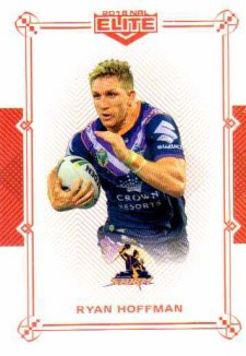 2018 NRL Elite Mojo Ruby MR58 Ryan Hoffman Storm