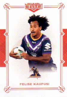 2018 NRL Elite Mojo Ruby MR60 Felise Kaufusi Storm