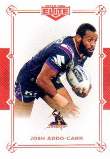 2018 NRL Elite Mojo Ruby MR55 Josh Addo-Carr Storm