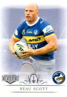 2018 NRL Elite Box Card 100 Beau Scott Eels