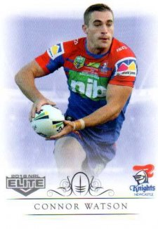 2018 NRL Elite Box Card 80 Connor Watson Knights