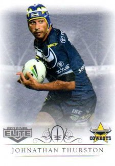2018 NRL Elite Box Card 90 Johnathan Thurston Cowboys