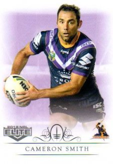 2018 NRL Elite Box Card 70 Cameron Smith Storm