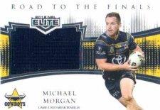 2018 NRL Elite Road to the Finals Jersey RF2 Michael Morgan Cowboys