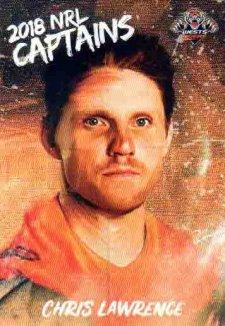 2018 NRL Elite Captains Card CC16 Chris Lawrence Tigers
