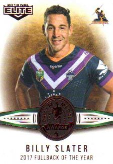 2018 NRL Elite Dally M Awards DM13 Billy Slater Storm