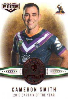 2018 NRL Elite Dally M Awards DM2 Cameron Smith Storm