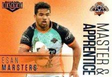 2018 NRL Elite Master & Apprentice MA32 Esan Marsters Tigers