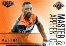 2018 NRL Elite Master & Apprentice MA31 Benji Marshall Tigers