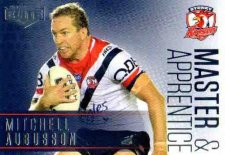 2018 NRL Elite Master & Apprentice MA27 Mitchell Aubusson Roosters