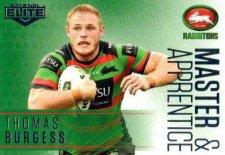 2018 NRL Elite Master & Apprentice MA23 Thomas Burgess Rabbitohs