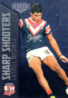 2018 NRL Elite Sharp Shooter SSH27 Latrell Mitchell Roosters