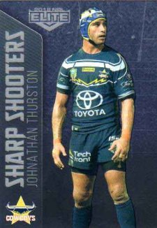 2018 NRL Elite Sharp Shooter SSH18 Johnathan Thurston Cowboys