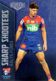 2018 NRL Elite Sharp Shooter SSH16 Kalyn Ponga Knights