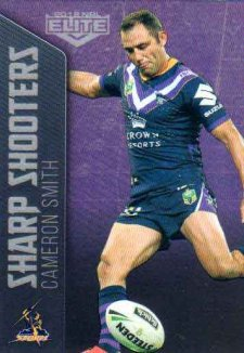 2018 NRL Elite Sharp Shooter SSH13 Cameron Smith Storm