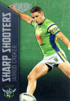 2018 NRL Elite Sharp Shooter SSH3 Jarrod Croker Raiders