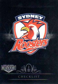 2018 NRL Elite Special Silver Parallel SS131 Roosters Checklist