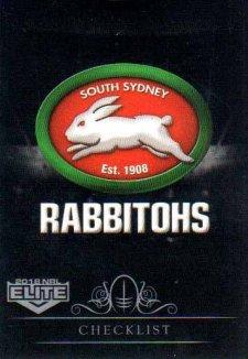 2018 NRL Elite Special Silver Parallel SS111 Rabbitohs Checklist