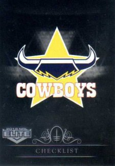 2018 NRL Elite Special Silver Parallel SS81 Cowboys Checklist