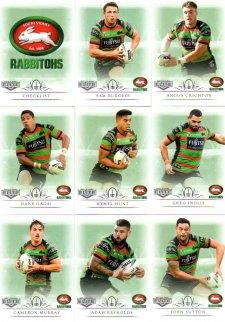 2018 TLA NRL Elite 9-Card Mini Base Team Set South Sydney Rabbitohs