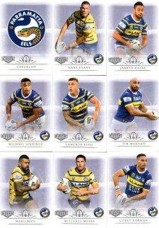 2018 TLA NRL Elite 9-Card Mini Base Team Set Parramatta Eels