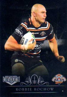 2018 NRL Elite Special Silver Parallel SS159 Robbie Rochow Tigers