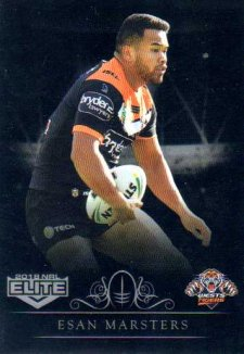 2018 NRL Elite Special Silver Parallel SS154 Esan Marsters Tigers