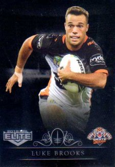 2018 NRL Elite Special Silver Parallel SS152 Luke Brooks Tigers
