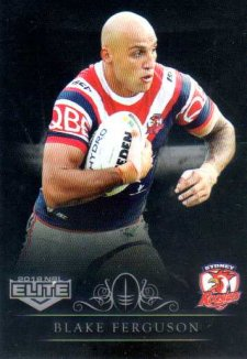 2018 NRL Elite Special Silver Parallel SS134 Blake Ferguson Roosters